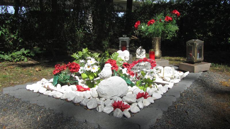 Tierfriedhof Göttingen Grab